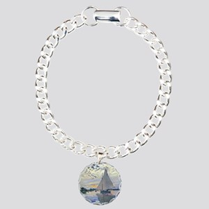 Claude Monet Sailboat Charm Bracelet, One Charm