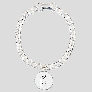 Chef uniform Charm Bracelet, One Charm