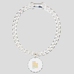 Del Boca Vista Florida Charm Bracelet, One Charm
