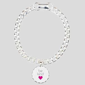 Be Kind Charm Bracelet, One Charm