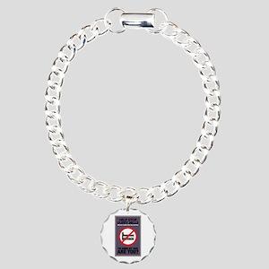 Stop Puppy Mills Charm Bracelet, One Charm