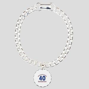 It's Not Easy Making 40 Charm Bracelet, One Charm