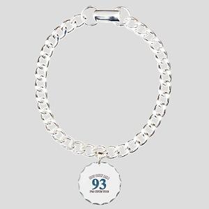 Not Only Am I 93 I'm Cut Charm Bracelet, One Charm