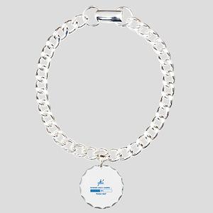 Kayaking Skills Loading Charm Bracelet, One Charm