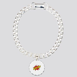 Super Dad! Charm Bracelet, One Charm