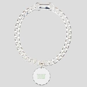 Most Birthdays Charm Bracelet, One Charm
