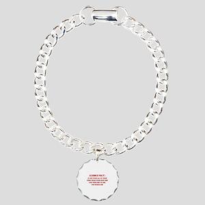 Science Fact Charm Bracelet, One Charm