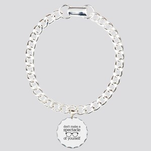 Spectacle of Yourself Charm Bracelet, One Charm