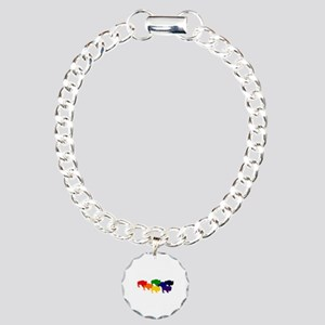 buffalopride Charm Bracelet, One Charm