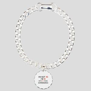 90 year old designs Charm Bracelet, One Charm