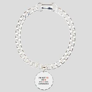 93 year old designs Charm Bracelet, One Charm