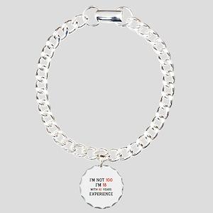 100 year old designs Charm Bracelet, One Charm