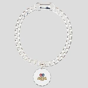 93 year old birthday designs Charm Bracelet, One C