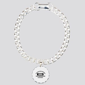 Cool Barbers designs Charm Bracelet, One Charm