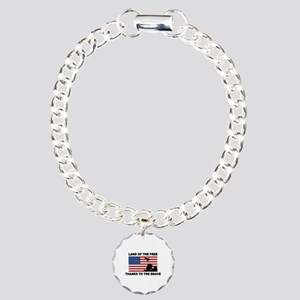 Land Of The Free Thanks To The Brave Bracelet