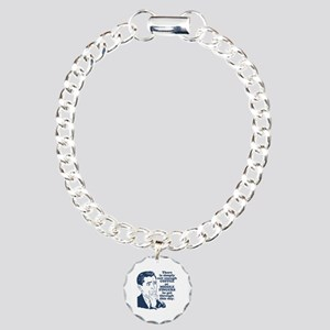 Coffee And The Middle Fi Charm Bracelet, One Charm