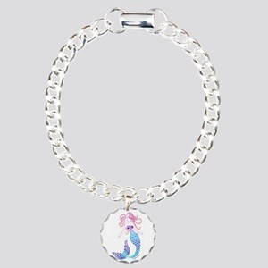 Tribal Mermaid Bracelet Charm Bracelet, One Charm