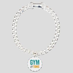 Gym and Tonic Charm Bracelet, One Charm