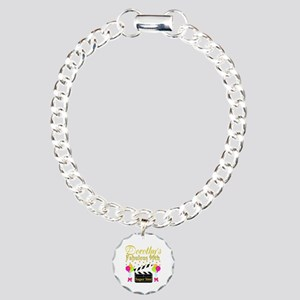 CUSTOM 90TH Charm Bracelet, One Charm
