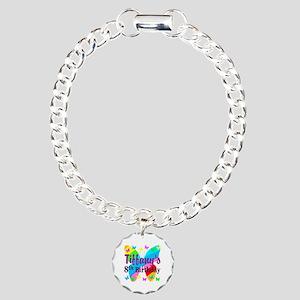 HAPPY 8TH Charm Bracelet, One Charm