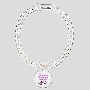 TOP SOCIAL WORKER Charm Bracelet, One Charm