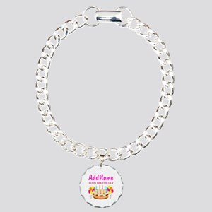 16TH BIRTHDAY Charm Bracelet, One Charm