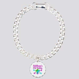 LOVING GOD 40TH Charm Bracelet, One Charm