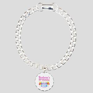 90 AND FABULOUS Charm Bracelet, One Charm