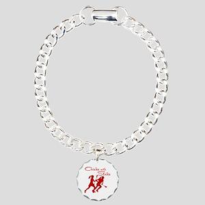 CHICKS WITH STICKS Charm Bracelet, One Charm