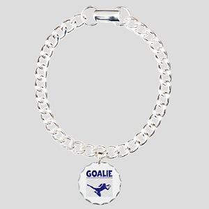 GOALIE Charm Bracelet, One Charm