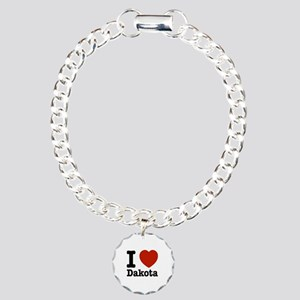 I love Dakota Charm Bracelet, One Charm