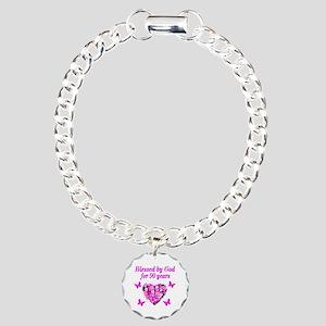 CHRISTIAN 90 YR OLD Charm Bracelet, One Charm