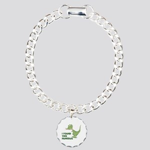 Cartoon Dinosaur Charm Bracelet, One Charm