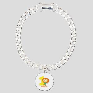 1st Birthday Personalize Charm Bracelet, One Charm