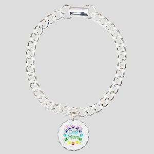 """Dog Mom"" Charm Bracelet, One Charm"