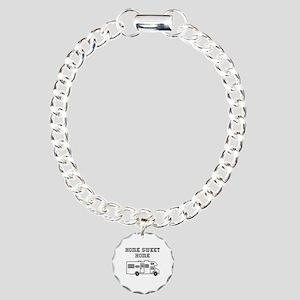 Home Sweet Home Mini Motorhome Charm Bracelet, One
