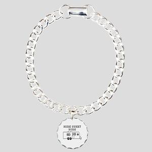 Home Sweet Home Travel Trailer Charm Bracelet, One