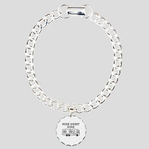 Home Sweet Home Motorhom Charm Bracelet, One Charm