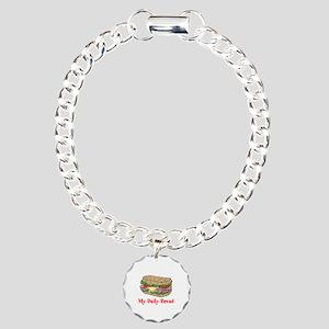 My Daily Bread Charm Bracelet, One Charm