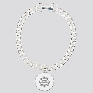 60th Wedding Aniversary (Engraved) Charm Bracelet,