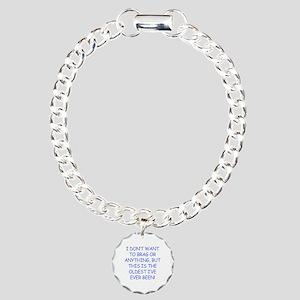 Birthday Humor (Brag) Charm Bracelet, One Charm