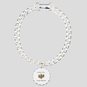 Loose Morels Charm Bracelet, One Charm
