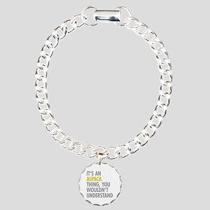 Its An Alpaca Thing Charm Bracelet, One Charm
