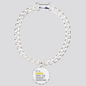 Its A Banking Thing Charm Bracelet, One Charm