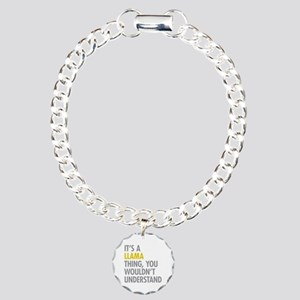 Its A Llama Thing Charm Bracelet, One Charm