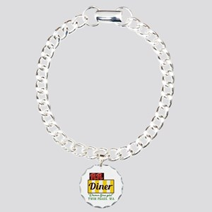 Double RR Diner in Twin Charm Bracelet, One Charm