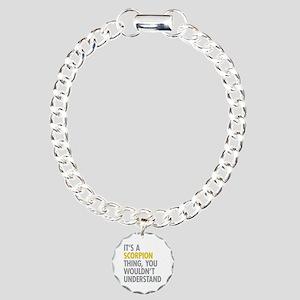 Its A Scorpion Thing Charm Bracelet, One Charm