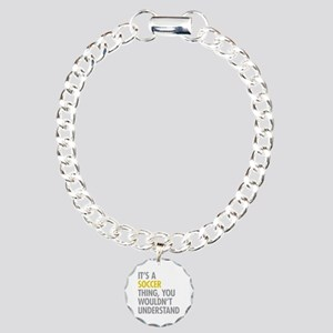Its A Soccer Thing Charm Bracelet, One Charm