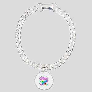 BLESSED 90TH Charm Bracelet, One Charm