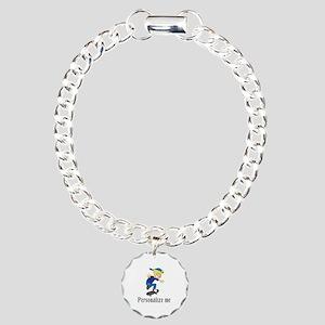 Personalize Boy On A Ska Charm Bracelet, One Charm